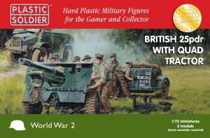 WW2G20006 British 25pdr with Morris Quad Tractor